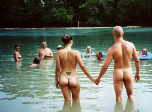 Natural manner nudist club