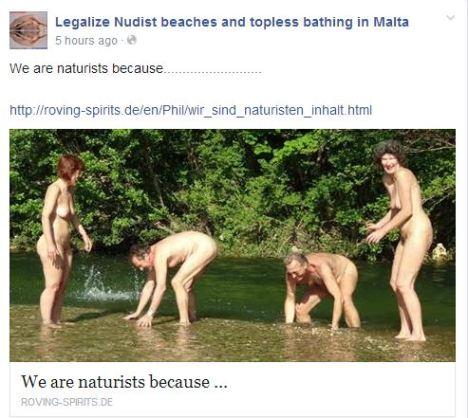 nudist family spirits