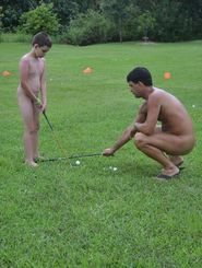 naked golfers