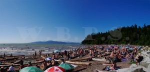 2015 Canada Day on Wreck Beach