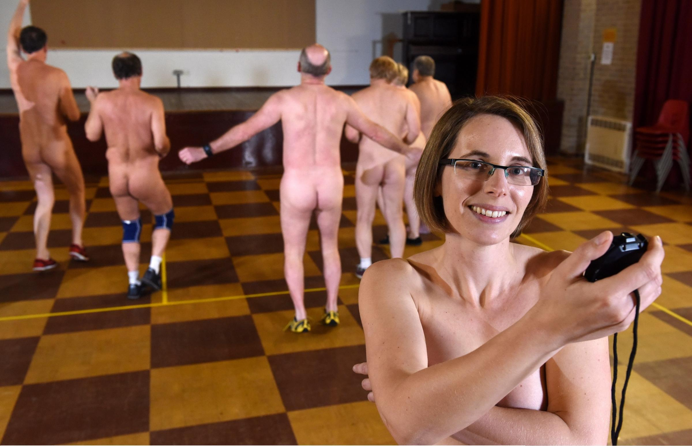 Nudist exercise files